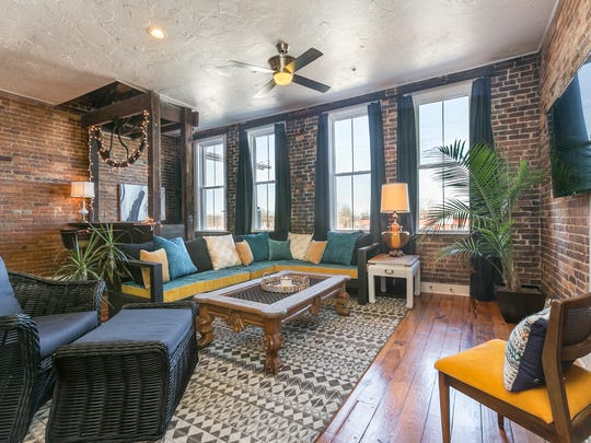 Charity Evans' Commercial Street Airbnb loft.