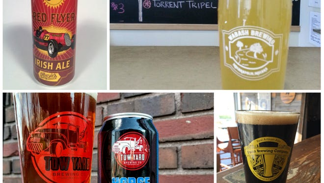 Get to know the final four beers in IndyStar's 2016 Malt Madness tournament of local craft beers.
