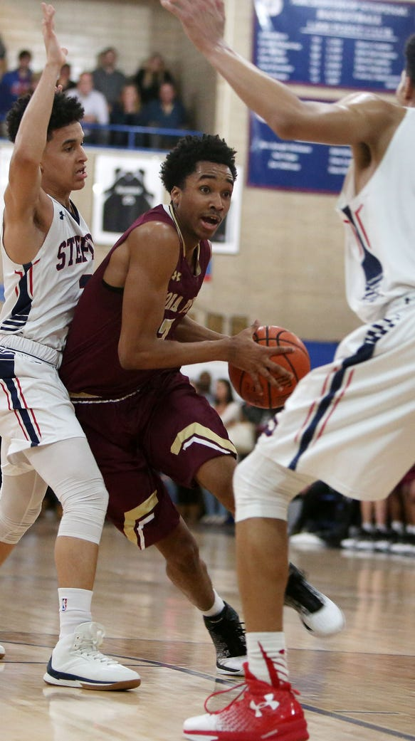 Iona Prep's Bryce Wills is a candidate for this year's Super 7.