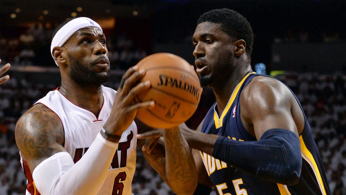 LeBron James, Heat let Game 4 do the talking vs. Pacers