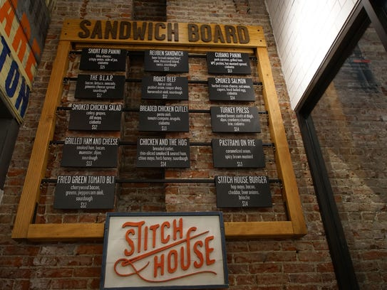 Downtown Wilmington's Stitch House Brewery will be serve craft beer and food in a casual setting.