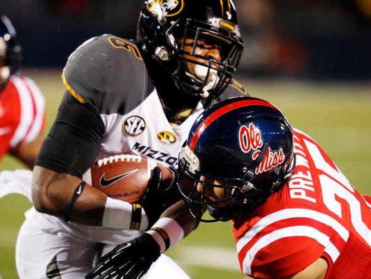 Missouri Mississippi Football