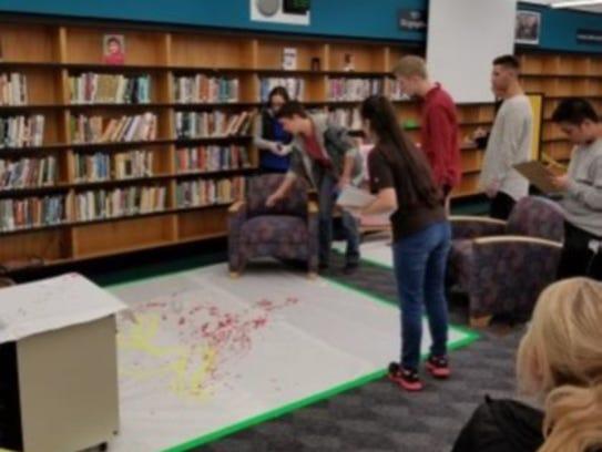 North Farmington High School students document the