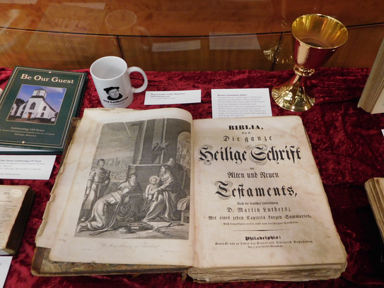 A German language Luther Bible printed in Philadelphia
