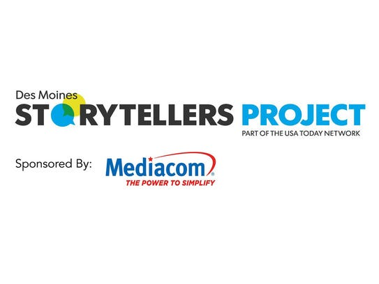 Des Moines Storytellers Project sponsored by Mediacom.
