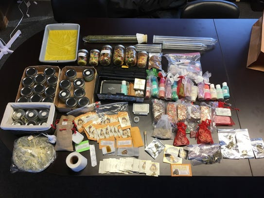 Detectives found a large amount of butane honey oil