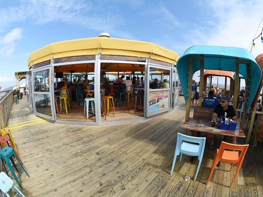 A circular, enclosed bar sits atop Big Chill Beach Club at the Indian River Inlet, home to this year's Brews By the Bay.