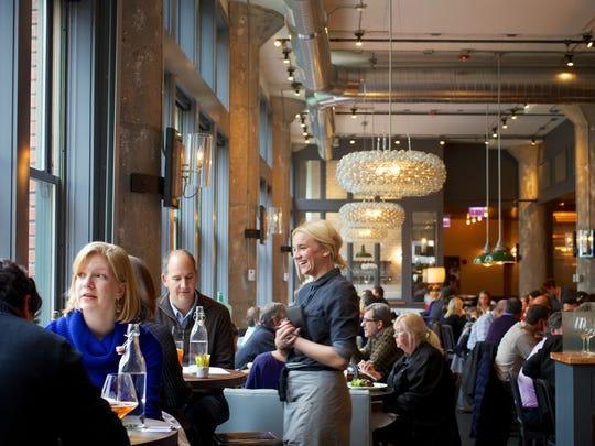 The Kitchen restaurant in Chicago is at 316 N. Clark