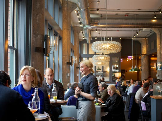 The Kitchen restaurant in Chicago is at 316 N. Clark St. Lunch, brunch and dinner are served. Prices start at $6 for snacks to $42 for dry-aged rib-eye. The restaurant arrives on Mass  Ave in mid-2017.