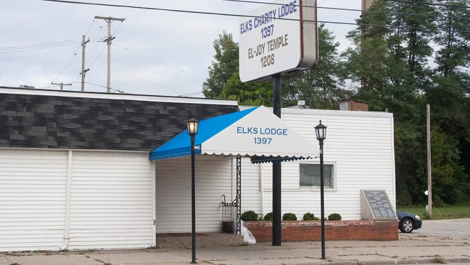 The Elks Charity Lodge, 149 Ottawa in Muskegon, was the scene of a shooting early Sunday morning.