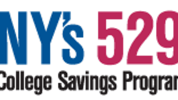 The logo for New York's 529 program for college savings