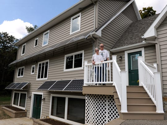 Awnings Double As Solar Panels In New Home