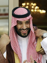 In this May 14, 2012, file photo, Prince Mohammed bin