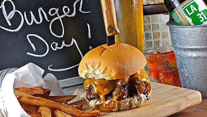 Bold Cajun flavors define this tasty burger.