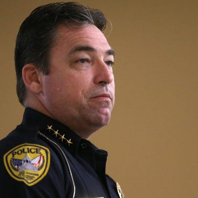 TPD Chief Michael DeLeo announced Sunday morning that