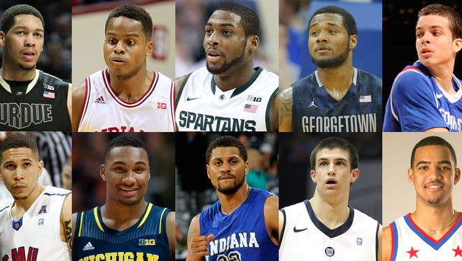 IndyStar's annual All-Indiana College Basketball team.