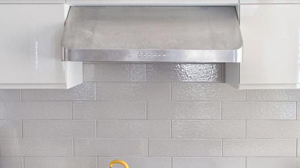 Over time your range hood fan filter may become blocked with grease.