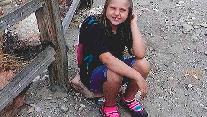 A photo provided by the Bullhead City Police Department shows Isabella Grogan-Cannella.