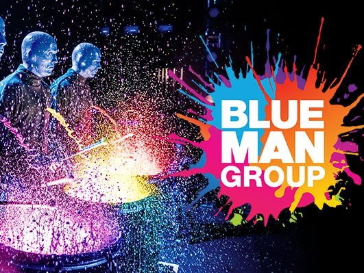 Blue Man Group will rock your world. Blow your mind. And unleash your spirit. Enter 10/2-10/31.