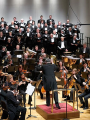 "Evansville Philharmonic Orchestra, led by Maestro Alfred Savia, performs ""American Heritage"" Saturday evening at the Victory Theatre in Evansville."
