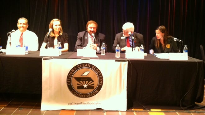 Republican candidates for District 23 House and Senate at the Scottsdale forum.