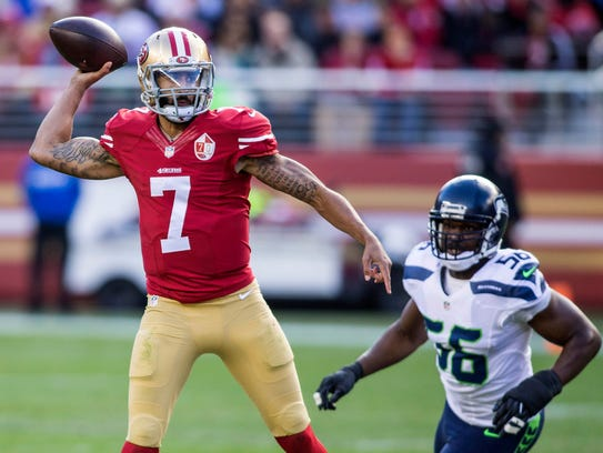 Colin Kaepernick was once a rising star, but his play