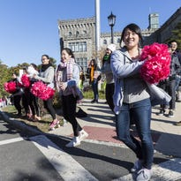 "The Annual 5K Walk for ""Making Strides Against Breast Cancer"" at Manhattanville College in Purchase on Sunday, October 18th, 2015"