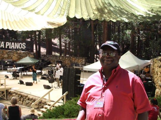 Long Beach jazz DJ Bubba Jackson programmed Jazz in the Pine festivals earlier this decade.