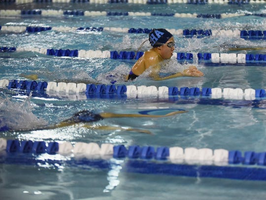 Big North boys & girls Swimming Championship at Passaic
