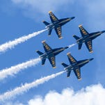 Blog: Blue Angels perform exhilarating final show of 2017 air show season