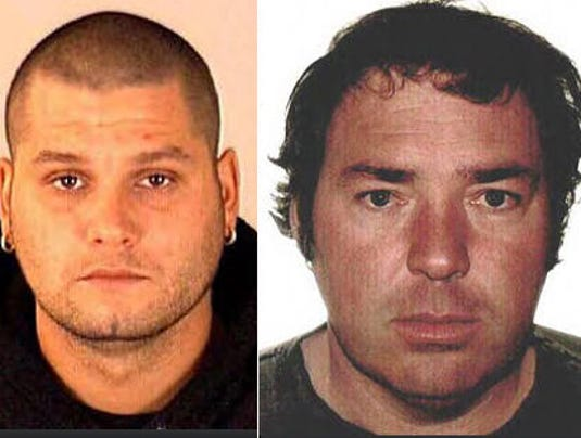 AP Canada-Fugitives-Captured