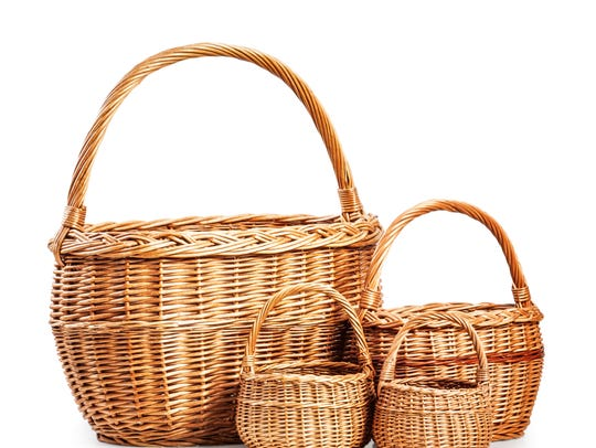 Don't be in a hurry to buy new baskets and bins. Most