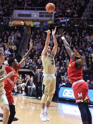 Scenes from Wednesday night's defeat of the Maryland