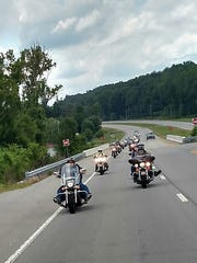 A local charity of bikers, Ride 4 Others, combine their