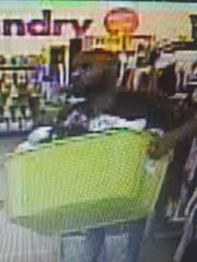 State police are searching for suspect in a shoplifting from a Hopewell Township dollar store.