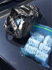Fentanyl-laced heroin and marijuana were found recently during a random compliance search at the Port of Wilmington.