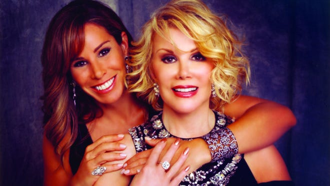 Melissa Rivers and Joan Rivers from 'The Book of Joan' by Melissa Rivers.