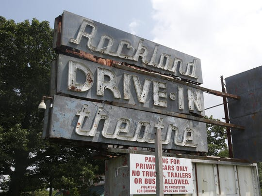 Ricky Flores/The Journal News The old Rockland Drive-In Theatre is the proposed development site for the Town Square Residencies. The Rockland Drive in is the proposed development site for the Town Square Residencies on July 14, 2016.