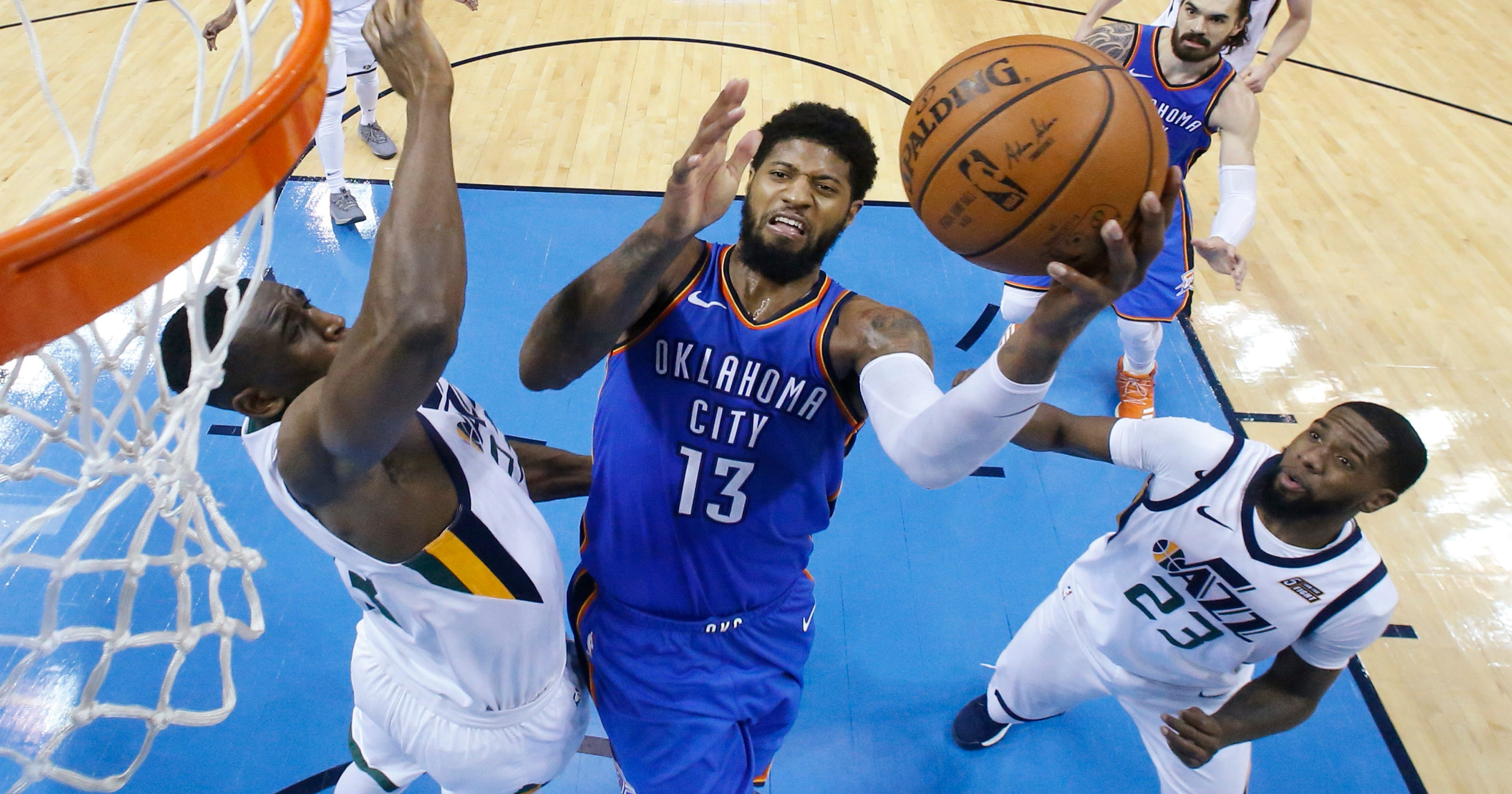 George's summer decision looms large for Thunder