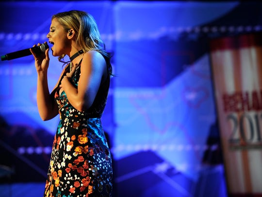 Lauren Alaina performs during the West Texas Rehabilitation 2017 Telethon on Saturday, Jan. 21, 2017, at the Abilene Convention Center.