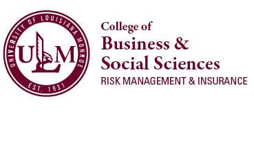 ULM Business & Social Sciences Risk Management & Insurance logo