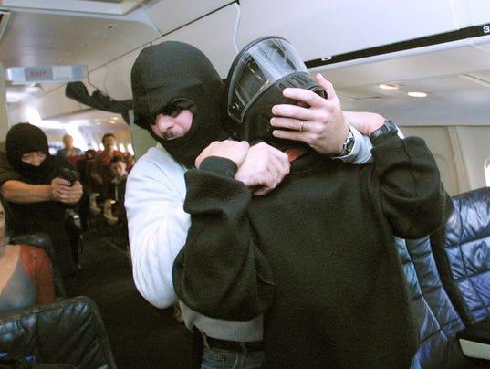AFP US-ATTACKS-HIJACKING SIMULATION