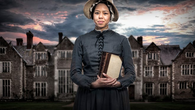 """Margaret Ivey plays the title role in the Playhouse in the Park's production of """"Jane Eyre."""" Adapted from Charlotte Brontë's novel by Polly Teale, the production runs March 16-April 8 in the Playhouse's Robert S. Marx Theatre. Preview performances begin March 11."""