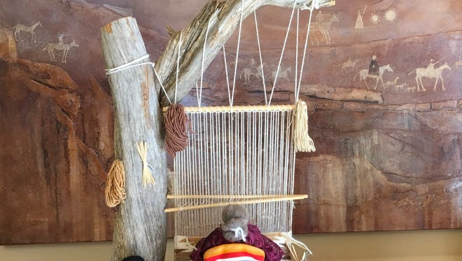 ​T​anner Tradition owner Lynn Tanner brings alive the art of Navajo weaving from 11:30 a.m. to 1 p.m. Saturday, April 15 at the Hubbard Museum of the American West.