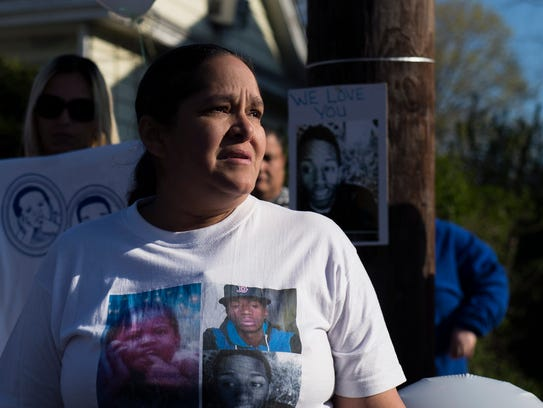 Jonathan Candelario's mother Margaret Candelario speaks