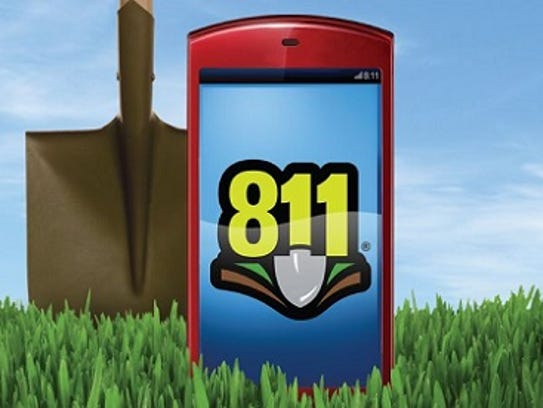 Please call 811 before you dig. It's the law.