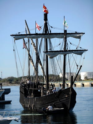 Replicas of two of Christopher Columbus' ships, The Nina and The Pinta, will be at Perdido Key March 1-6.