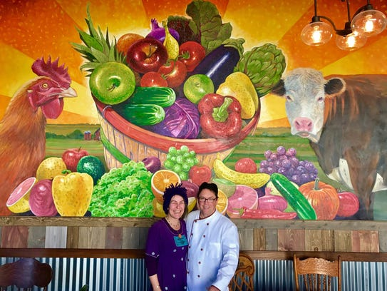 Lisa and Brian Bernier opened a new restaurant, Harvest