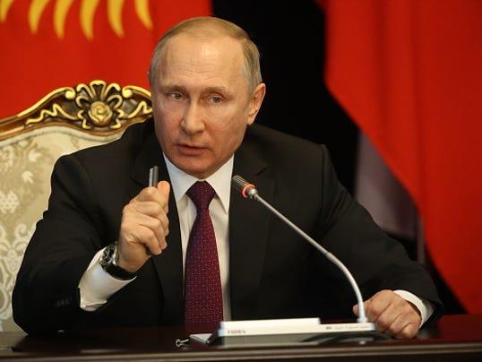 Russian President Vladimir Putin Visits Kyrgyzstan