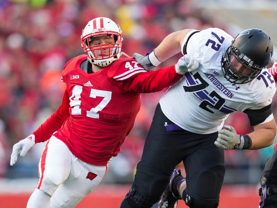 Linebacker Vince Biegel decided to return for his senior season after recording 14 tackles for loss a year ago. He should anchor a typically-strong Badgers defense.